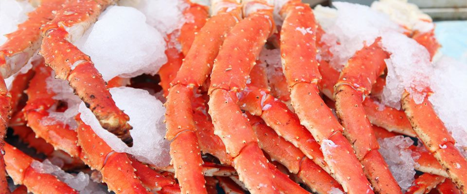 Frozen Crab Sections